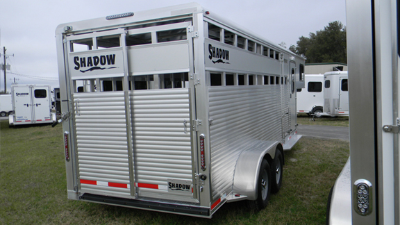 Livestock Trailers Aluminum Livestock Trailers By Shadow