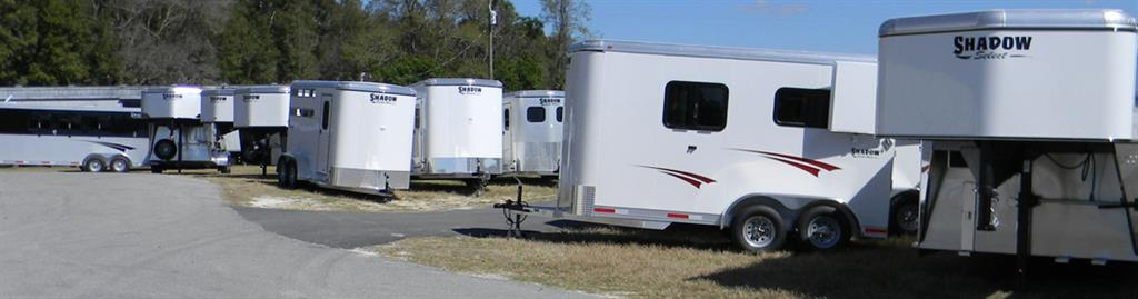Living Quarter Horse Trailers - Shadow Horse Trailers